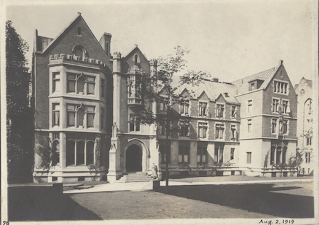 Diocesan House front view, 1919